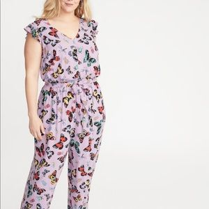 Old Navy butterfly jumpsuit